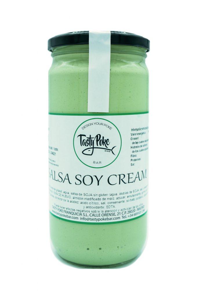 Soy cream